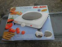ELECTRIC HOB COOKER, PORTABLE, SITS ON WORKTOP