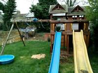 small house with slide sale urgently