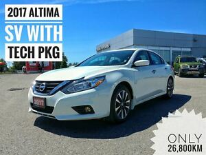 2017 Nissan Altima 2.5 SV w Blind Spot Warning  FREE Delivery