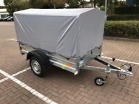 Brand new car box trailer UNITRAILER