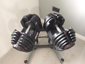 Bowflex 10-90 dumbbells