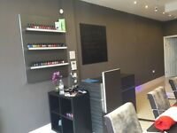 Full time Experienced Nail Technician required for vibrant Nail Salon
