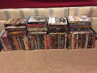 Job lot dvds and blu rays 100 in total