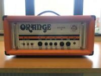 Orange Rocker 30 head amp & Orange 4x12 cab guitar amp stack fender Marshall Mesa Cabinet