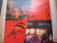 THE EAGLES HAND SIGNED AUTOGRAPHS WITH COA