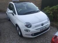 Fiat 500 only 9,700 miles!