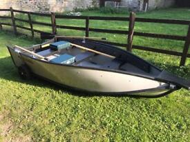 10' PortaBote and 5hp Tohatsu Outboard