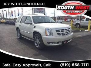 2011 Cadillac Escalade LEATHER, NAV, BACK-UP CAM, DVD, LOADED -