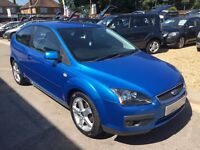 2007/07 FORD FOCUS 1.6 ZETEC CLIMATE AUTOMATIC 3 DR IN METALLIC BLUE,EXCELLENT CONDITION,DRIVES WELL