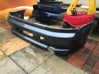mitsubishi evo 7 8 mr rear bumper
