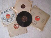 10 x 78 rpm records (Batch 2), 1920's, 1930's , dance. foxtrot etc, song, music, Harrow School songs