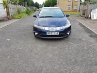 2007 Honda Civic 2.2 i-CTDi EX 5dr Manual @07445775115 2+Owner++History+Xenon+Lights