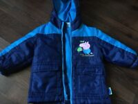 Peppa Pig rain coat