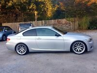 BMW 325D m sport coupe 3.0td 2008 58 plate, private plate