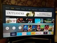 """Samsung 55"""" Curved 4K tv with HDR model: UE55KU6100K"""