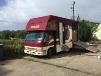 Mitsubishi canter Horse Lorry
