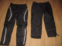 As new armoured motorcycle trousers
