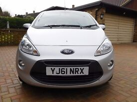 £3750, Ford KA 1.2 ZETEC, LOW MILEAGE, PRICED TO SELL!!