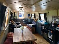 "57""x10"" Widebeam canal barge boat (2007) - London -£88,950"