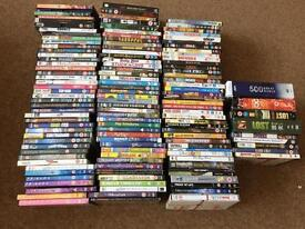 Joblot of 130 assorted DVD'S in good used condition