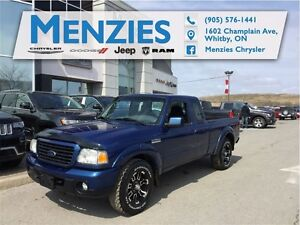 2008 Ford Ranger Sport 4X4, Air, Alloys, Fog Lamps...