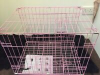 Brand new pink cage