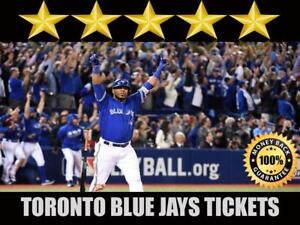 Discounted Toronto Blue Jays Tickets  | Last Minute Delivery Guaranteed!