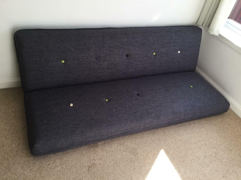 size 40 75f0f 3f794 DFS Pluto grey sofa bed - one leg broken For Collection | in Cambuslang,  Glasgow | Gumtree