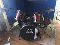 Devil drums full drum kit & seat