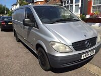 2004 mercedes vito 109 cdi lwb 6 SPEED