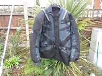 Cordura Motorcycle Jacket as new!