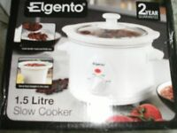 SLOW COOKER 1.5 LITRE (Brand New & Boxed)