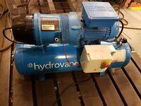 Hydrovane HV02 Compressor 230v - 1ph