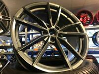 "4 19"" alloy wheels alloys rims tyre tyres vw Volkswagen seat Skoda audi 112"