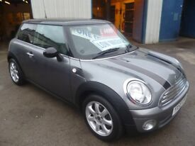 Mini Cooper Graphite LTD Edition,3 door hatchback,1 lady owner from new,full black leather interior