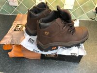 Timberland pro series safety boot / work boots, size 10, steel toecaps brand new