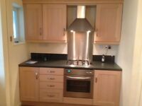 Kitchen includes dishwasher, sink, oven, gas hob, extractor included. £400 all working.