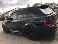 Range Rover sport hst new turbos!!!