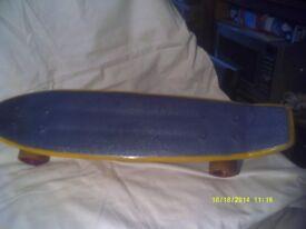 SKATE BOARD , BOARD SUSPENSION , WHEELS & BEARINGS ALL GOOD .++++ ++++ ++++