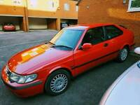 Saab 9-3 2.0 lpt couple on prins lpg