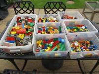 LEGO DUPLO COLLECTION WITH LOADS OF FIGURES