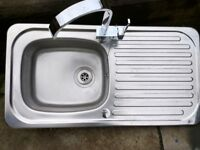 Kitchen Sink and Tap, barely used and ready to pick up