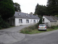Traditional Long House in S Brittany