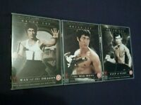 3 Bruce Lee dvds - martial arts