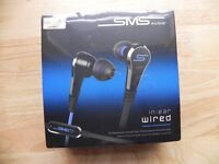 SMS AUDIO in-ear wired headphones