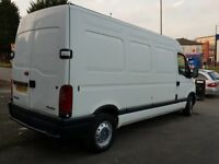2004 RENAULT MASTER LM35 DCI 100 LONG WHEELBASE VAN VAUXHALL MOVANO VERY GOOD CONDITION BARGAIN