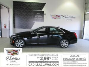 2014 CADILLAC CTS SEDAN AWD TURBO PERFORMANCE AWD Turbo Performa