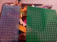 Small tub of lego