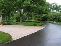 Driveway Cleaning and Sealing. Asphalt, Concrete, and more!