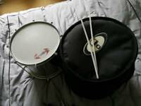 Repinique samba drum and protection racket case